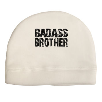 Badass Brother Child Fleece Beanie Cap Hat