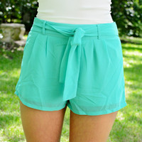 Flirty Flowing Shorts