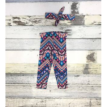 Baby Girl Leggings - Printed Leggings- Baby Clearance