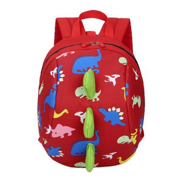 Toddler Backpack class Baby Boys Girls Kids Dinosaur Pattern Animals Backpack Toddler School Bag Famous Brand Satchel High Quality Nylon Backpack AT_50_3