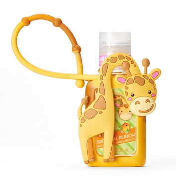 Simple Pleasures Giraffe Tropical Punch Antibacterial Hand Sanitizer (Yellow)