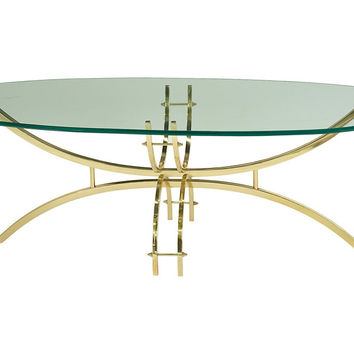 Spider Coffee Table, Gold, Cocktail Table