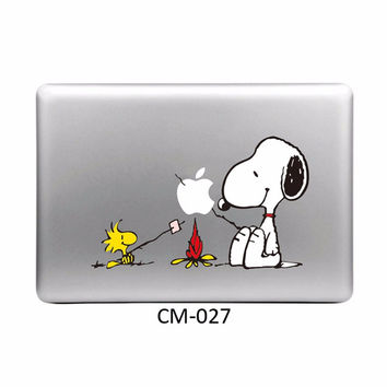 Cute Cartoon DIY Personality Vinyl Decal Laptop Sticker for Macbook Pro Air 11 13 15 Inch Cartoon Laptop Skin Shell for Mac book
