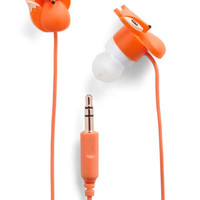 ModCloth Critters The Fox and the Sound Earbuds