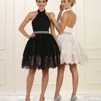Prom Short Formal Homecoming Graduation Dress