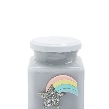 Rainbow Shooting Star Candle