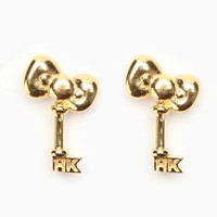 Onch x Hello Kitty Earrings: Bow Key