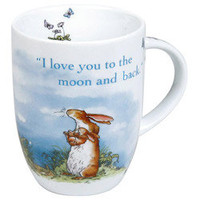 Konitz Mugs 'I Love You To The Moon And Back' Cups (Set of 4) | Overstock.com