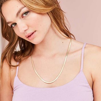 Long Icon Snake Chain Necklace | Urban Outfitters