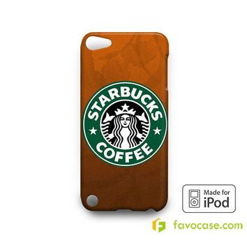 STARBUCKS Coffee LogoiPod Touch 4, 5 Case Cover  iPod Touch 4 5 6 Case