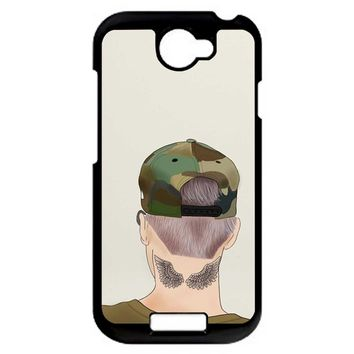 Justin Bieber Drawing HTC One S Case