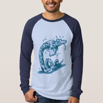 clumsy snake stuck into the skull T-Shirt