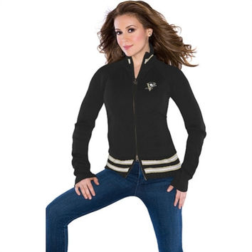 Touch by Alyssa Milano Pittsburgh Penguins Women's Sweater-Mix Jacket