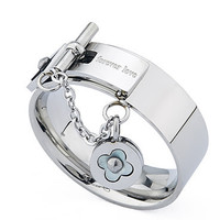 Blacksmith Made Silver :Forever Love: Statement Band Ring
