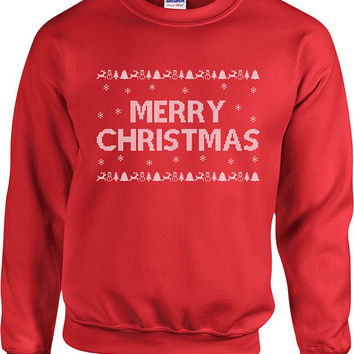 Ugly Christmas Sweater Merry Christmas Sweater Christmas Presents Ugly Xmas Sweater Xmas Hoodie Holiday Season Unisex Hoodie - SA420