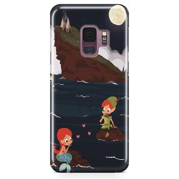 Peter Pan And Ariel Mermaid Samsung Galaxy S9 Case | Casefantasy