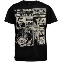 Johnny Cash - Newspaper Soft T-Shirt