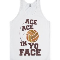 White Tank | Cute Volleyball Shirts