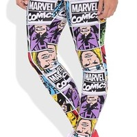 Leggings with Marvel Character Comics
