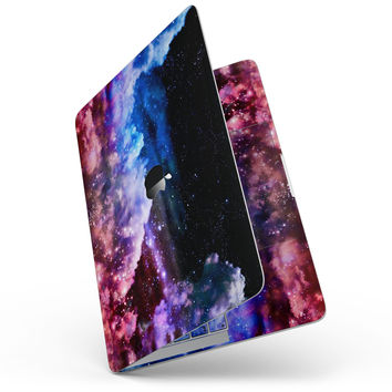 "Purple Blue and Pink Cloud Galaxy - 13"" MacBook Pro without Touch Bar Skin Kit"
