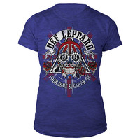 Def Leppard Official Store | Def Leppard Ladies Tour Tee