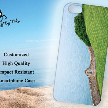 Howth Dublin Ireland Green Countryside and Water 5/5S Phone Case