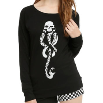Harry Potter Death Eater Girls Pullover Top