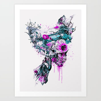Don't Kill The Nature IV Art Print by RIZA PEKER