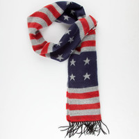Americana Scarf Navy One Size For Men 25163821001