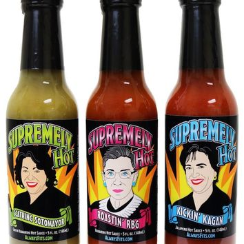 Supremely Hot Sauce 3-Pack Set