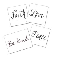 The Simple Reminders Tattoo Set