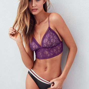 27cbf0c4a3 Lace Long Line Bralette - Victoria s from Victoria s Secret