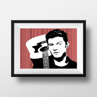 Shawn Mendes poster print music wall decor art