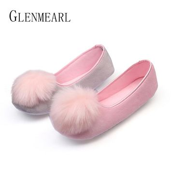 GLENMEARL - 2017 Soft and Sweet Indoor Ballet Flat Slippers*