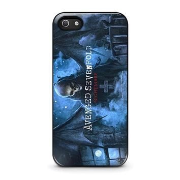 avenged sevenfold iphone 5 5s se case cover  number 1