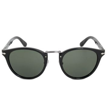 Persol Typewriter Edition Oval Sunglasses PO3108S 95/31 49