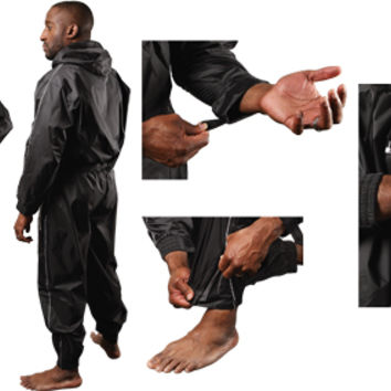 TITLE Pro Hooded Sauna Suit | Sweat & Sauna Suits | Workout Apparel | Men's Apparel | Boxing Apparel from Title Boxing