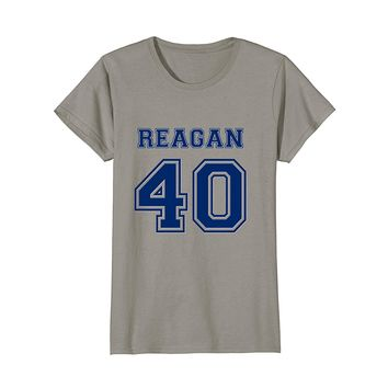 President Ronald Reagan T Shirt - 40th President Jersey