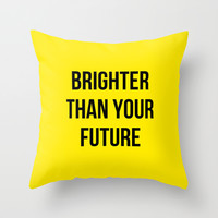 shining bright Throw Pillow by Courtney Burns