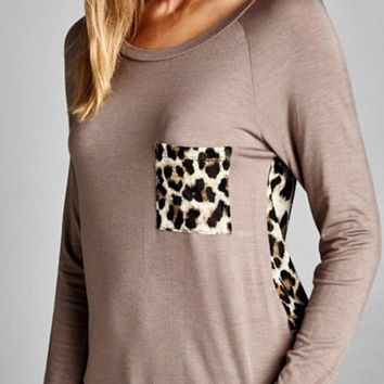 Wild Thing Tunic Top - Mocha