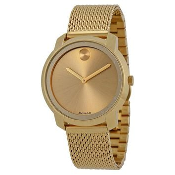 Movado Bold Gold Ion-plated Stainless Steel Ladies Watch 3600242