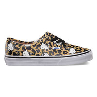 Vans Hello Kitty Authentic Womens Shoes Leopard/True White  In Sizes