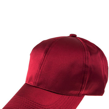satin adjustable hat cap baseball cap visor