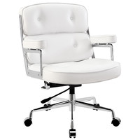 Remix White Office Chair