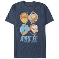 Up Men's - Balloons Adventure is Out There T Shirt