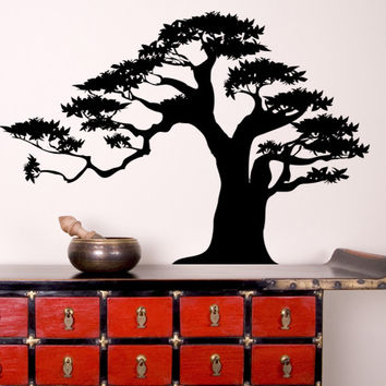 Vinyl Wall Decal Sticker Bonsai Tree 2 #AC150