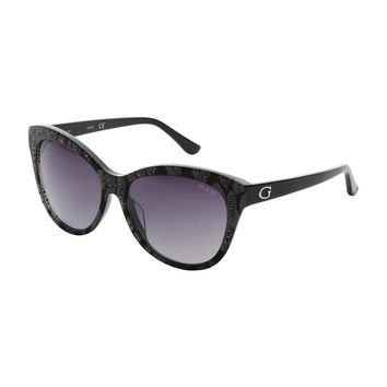 Guess Grey Acetate Uv2 Sunglasses