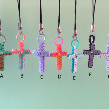 Ready-Made Rexlace Cross Keychains