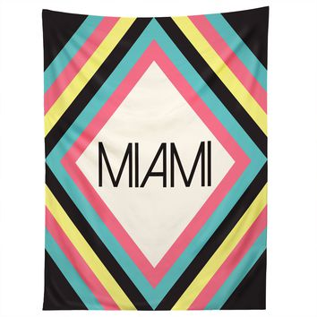 Miami Marquee Tapestry