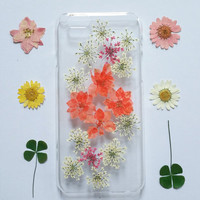 iPhone 5s cover Floral, iPhone 5 case Clear, Pressed Flower iPhone 5s cover, iphone 5c cover, flower iphone 5s cover, flower iphone cover